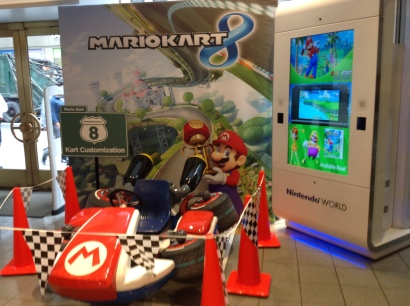 A life-sized Mario Kart from one of my favourite flagship stores, Nintendo World.